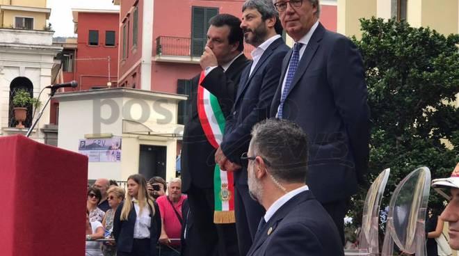 Vico Equense: intitolazione del piazzale Giancarlo Siani