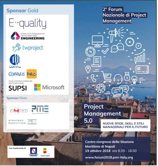 Forum Nazionale di Project Management.