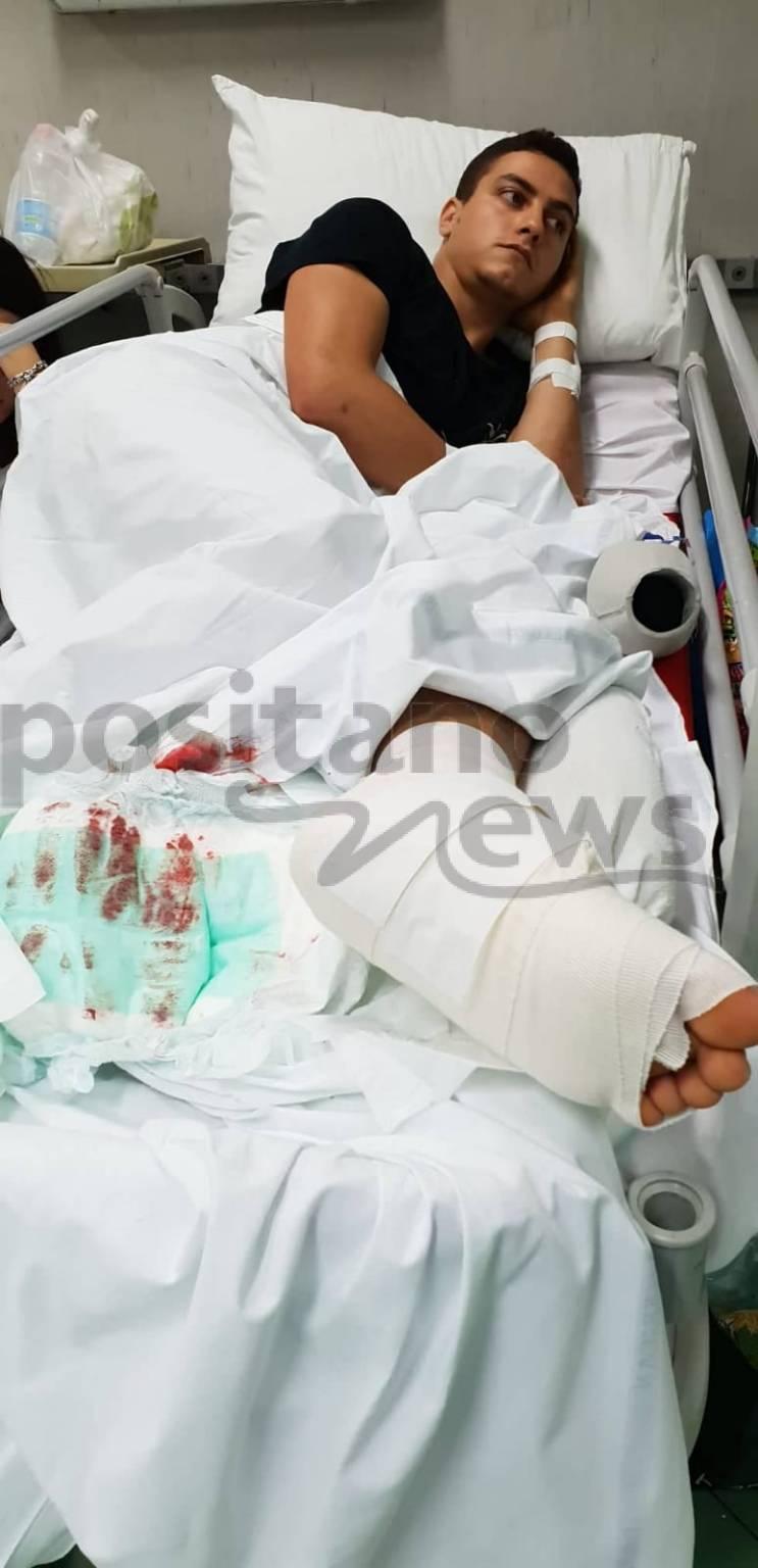 foto di nello ragazzo incidente
