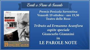 giancarlo giannini a piano di sorrento