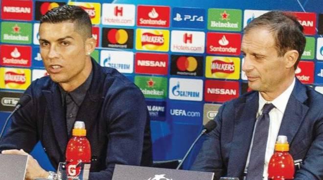 Il grande match MANCHESTER-JUVE  OR(21) -Ronaldo da ex sfidaMourinho e Pogba«Se segno non esultoSono un esem