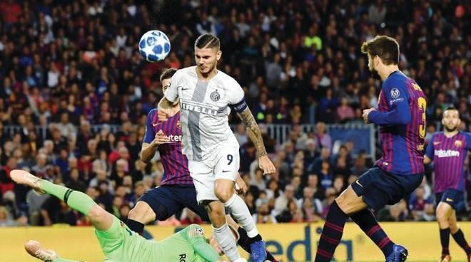 L'Inter cade al Camp Nou. Spalletti:mi aspettavo di piu'