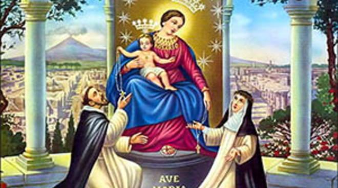 Oggi 7 ottobre Festa della Madonna del Rosario