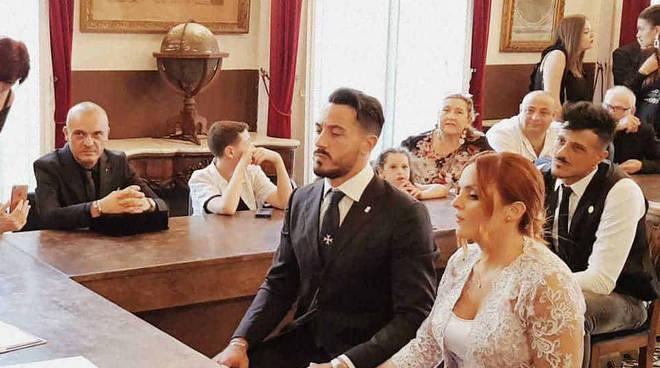 Si è sposato ad Amalfi Emanuele Liuzzi, canottiere azzurro