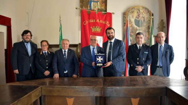 Visita del Prefetto Russo al Comune di Amalfi