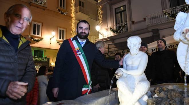 Amalfi inaugurazione statua San Andrea restaurata