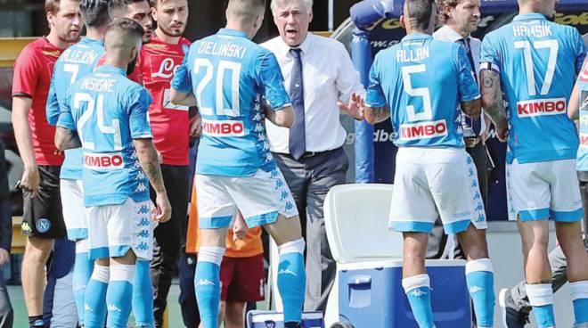 Ancelotti,questo Napoli mi da' emozioni -«C'è un gusto particolare ad allenare in una città che vive di calcio»