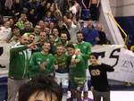 Folgore Massa esultanza a Pozzuoli