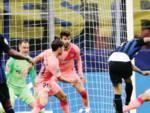 Champions,L'Inter ferma il Barcellona