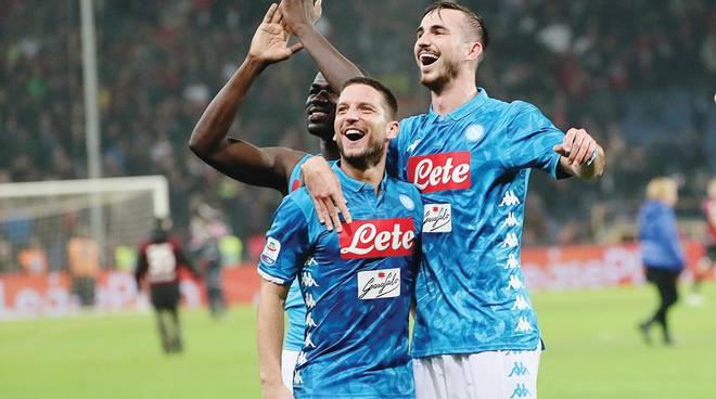 Da Mertens a Fabian Ruiz si allunga la lista dei cambi azzurri decisivi nella rincorsa alla Juve