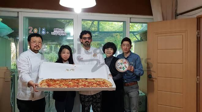 La pizza di Vico Equense in Corea del Sud con Michele Cuomo Cerasè