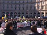 ncc in protesta a roma