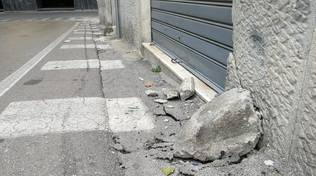 Piano di Sorrento, incidente in via Gennaro Maresca