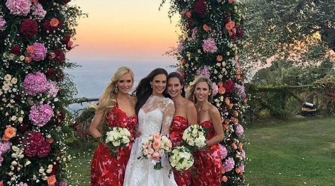 ravello matrimonio villa cimbrone damigelle