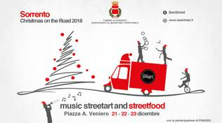 Christmas on the Road, a Sorrento arriva lo street food