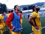 contestazione sorrento tifosi campo italia