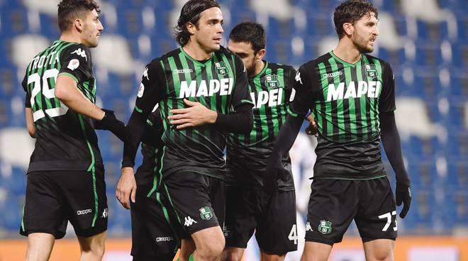 Coppa Italia,il Sassuolo vince a fatica con il Catania e si regala il Napoli