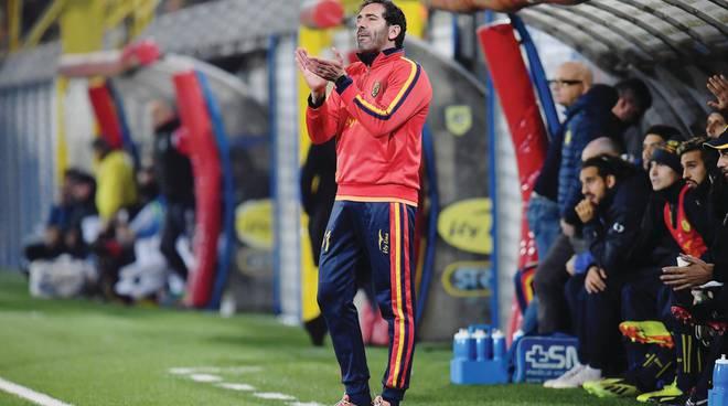 Juve stabia, Fabio Caserta ecco un'altra chance e pensa a un turnover