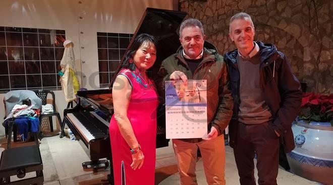 Positano concerto Eileen Huang e De Filippo