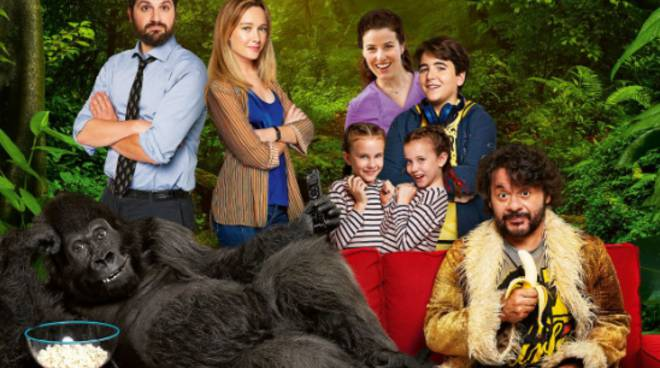 Attenti al Gorilla - Foto del Set di Gina Neri