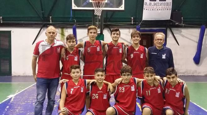 I ragazzi dell'Under 15 M del G.S Minori Costa d'Amalfi perdono ancora.