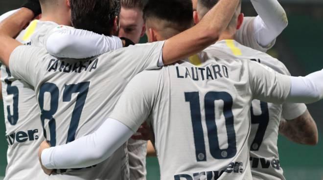 Coppa Italia Inter troppo forte - La squadra nerazzurra supera Bucchi e si regala il quarto con la Lazio-Benevent
