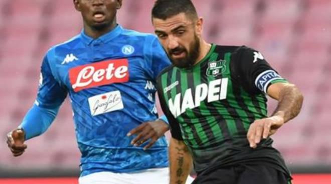 Coppa Italia Napoli -Sassuolo ore 20,45 Rai 1