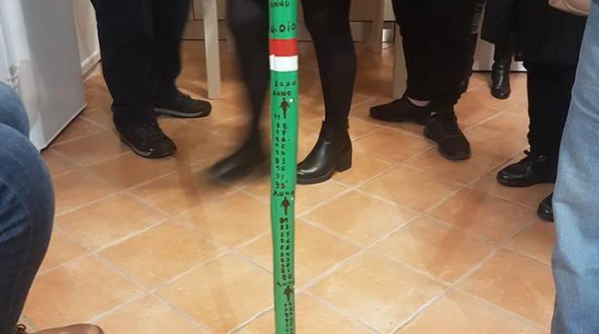 Il bastone del Corriere a Nocelle Positano