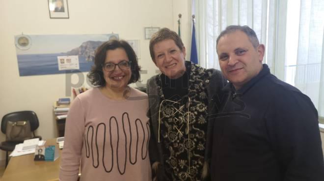Incontro con Annalisa Strada all'openday di Positano