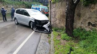 Massa Lubrense incidente in Via IV Novembre
