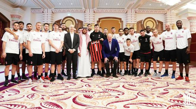 Milan in Arabia Saudita
