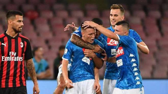 Milan -Napoli  solo su Dazn - Sara' uan gara piena di sfide