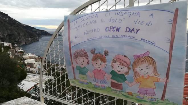 Open day infanzia Positano, Praiano Montepertuso