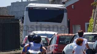 Positano traffico bus