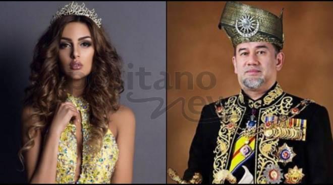 Il Re della Malesia antica per amore:Sultano malese rinuncia alla corona.