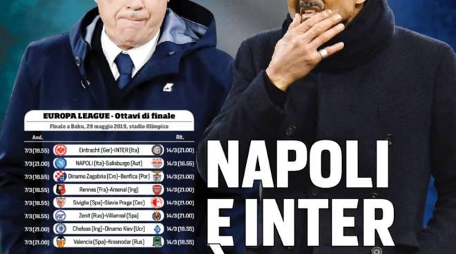 Europa League il sorteggio no fa tremare il Salisburgo- Rose Napoli forte ma noi vogliamo andare avanti