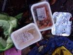 I pasti del Cardarelli gettati nei giardinetti