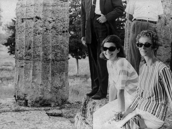 Marella Agnelli e Jacqueline Kennedy