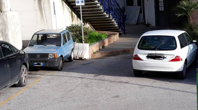 parcheggi in sosta vietata