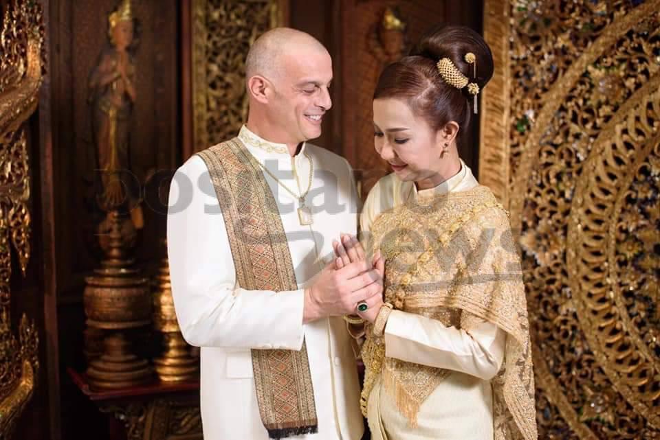 Positano, Alessandro Cinque sposo in Tailandia