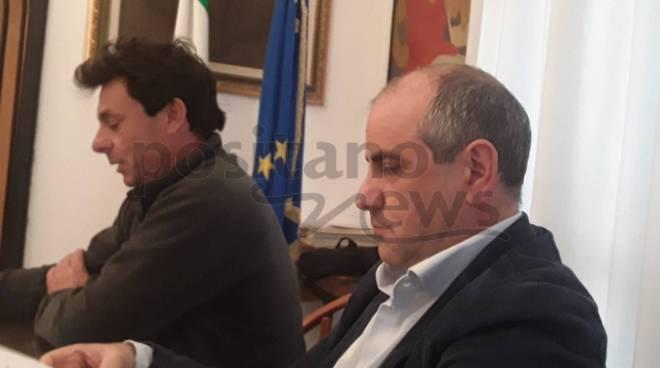 Positano: Incontro sulla viabilità con il sindaco De Lucia