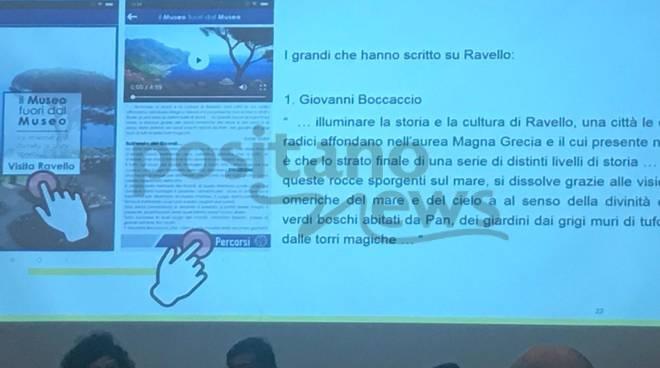 Presentazione app Museo a Ravello