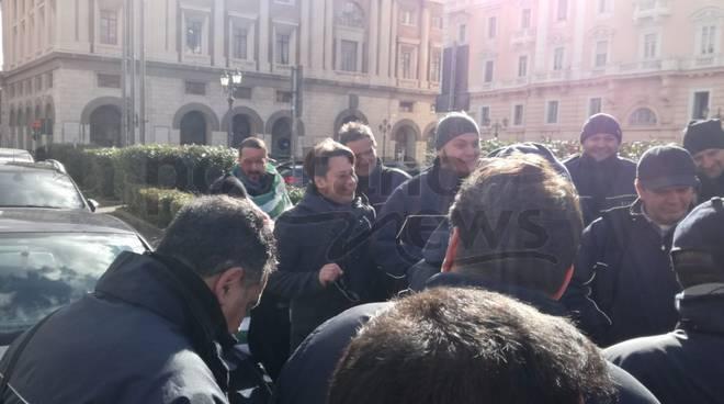 Protesta Sita a Salerno Diego Corace