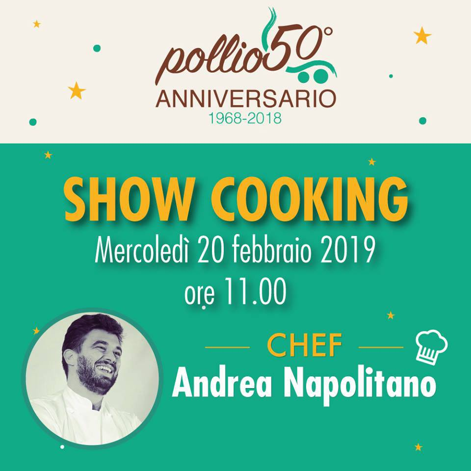 show cooking a sorrento Supermercarti Pollio
