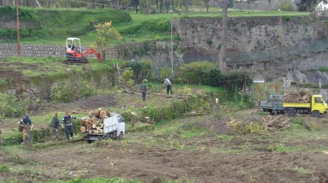Sorrento area lavori Terna Via San Renato