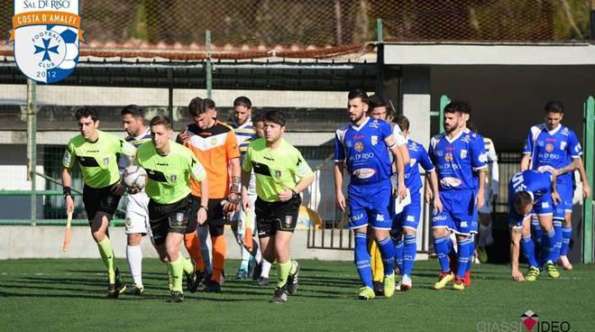 Foto di Michele Abbagnara tratta dal diario di Facebook del F.C. Sal De Riso Costa d'Amalfi Calcio