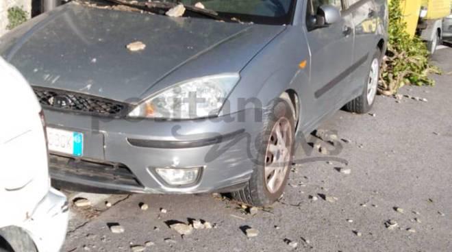 positano auto danneggiate