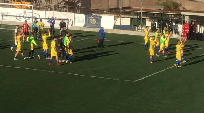 Foto tratta dal diario di Facebook del F.C. Sal De Riso Costa d'Amalfi Calcio