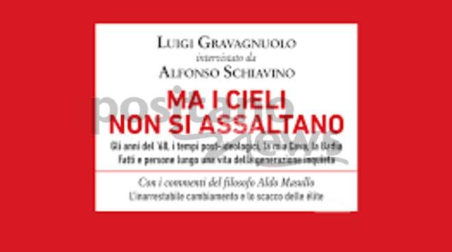 """Cava de\' Tirreni. Gli studenti del Liceo \""""de Filippis-Galdi\"""" intervistano Luigi Gravagnuolo"""