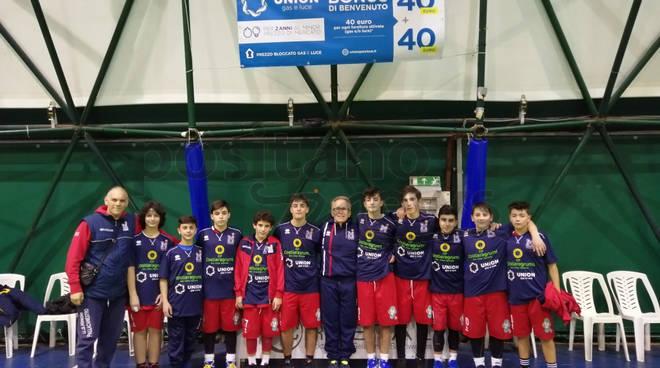 I ragazzi dell'Under 15 M del G.S Minori Costa d'Amalfi perdono la prima partita della seconda fase.